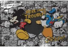 Fototapeta na flizelinie Myszka Mickey - Komiks (531VE)