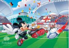 Fototapeta na flizelinie Myszka Mickey - Na stadionie (954VE)