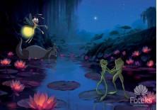 Fototapeta na flizelinie  Księżniczka i żaba - W nocy (2399VE)