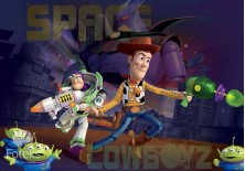 Fototapeta na flizelinie Toy Story - Walka (1740VE)