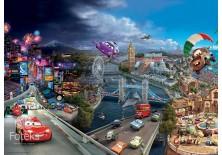 Fototapeta na flizelinie Disney Auta - Na ulicach Europy (4-012VE)