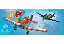 Fototapeta panoramiczna Planes - Speed 250x104 cm (466VEP)