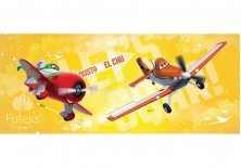 Fototapeta panoramiczna Planes - Dusty i El Chu 250x104 cm (512VEP)