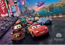 Fototapeta na flizelinie Disney Auta - Zygzak McQueen i przyjaciele (4-013VE)