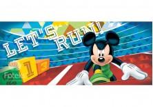 Fototapeta panoramiczna Myszka Mickey - Biegi 250x104 cm (1258VEP)