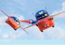 Fototapeta na flizelinie Disney Auta - Auta w powietrzu (318VE)