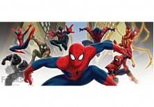 Fototapeta panoramiczna Spiderman - Z przyjaciółmi 250x104 cm (1274VEP)