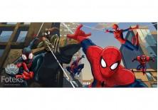 Fototapeta panoramiczna Spiderman - Między budynkami 250x104 cm (1275VEP)