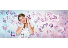 Fototapeta panoramiczna Violetta -W słuchawkach 250x104 cm (470VEP)