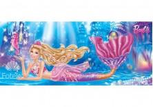 Fototapeta panoramiczna Barbie - Syrenka 250x104 cm (1842VEP)