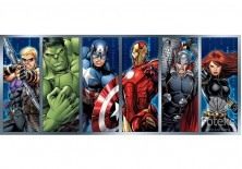 Fototapeta panoramiczna Avengers - Bohaterowie 250x104 cm (964VEP)