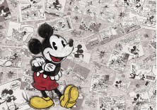 Fototapeta na flizelinie Myszka Mickey - Mickey w gazecie (2883VE)