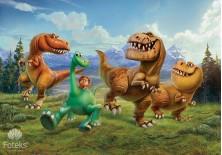 Fototapeta na flizelinie Dobry dinozaur - Wyprawa (3170VE)