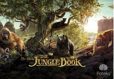 Fototapeta na flizelinie Disney Księga Dżungli - Przygoda (3535VE)