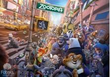 Fototapeta na flizelinie Disney Zwierzogród - Zwierzęta na przedmieściach (3556VE)
