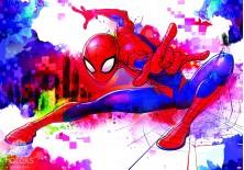 Fototapeta na flizelinie Spiderman - Pajęcza sieć (10608VE)
