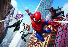 Fototapeta na flizelinie Spiderman - Atak (10589VE)
