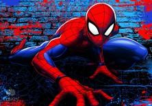Fototapeta na flizelinie Spiderman - Niczym pająk (10587VE)