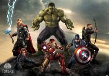 Fototapeta na flizelinie Avengers - Atakują (3361VE)
