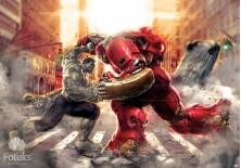 Fototapeta na flizelinie Avengers - W walce (3365VE)