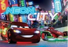 Fototapeta na flizelinie Disney Auta - Neon city (750VE)