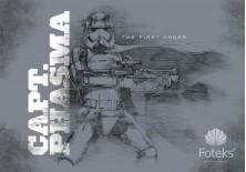 Fototapeta na flizelinie Gwiezdne wojny - Captain Phasma (2746VE)