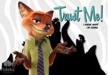 Fototapeta na flizelinie Disney Zwierzogród - Trust me (3231VE)