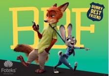 Fototapeta na flizelinie Disney Zwierzogród - Bunny best friend (3232VE)