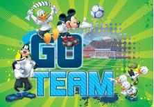 Fototapeta na flizelinie Myszka Mickey - Go team (953VE)
