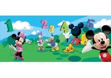 Fototapeta panoramiczna Myszka Mickey - Odliczanie 250x104 cm (4-029VEP)