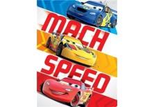 Fototapeta na flizelinie Disney Auta - MACH SPEED 206x275 cm (3058VEA)