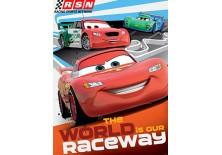 Fototapeta na flizelinie Disney Auta - RACEWAY 206x275 cm (3059VEA)