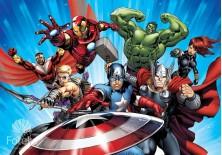 Fototapeta na flizelinie Avengers - Superbohaterowie (963VE)
