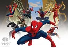 Fototapeta na flizelinie Spiderman - Człowiek pająk (1274VE)
