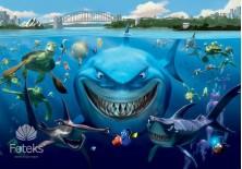 Fototapeta na flizelinie Gdzie jest Nemo - Nemo i przyjaciele (1789VE)