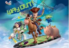 Fototapeta na flizelinie Toy Story - Zabawki (1738VE)