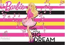 Fototapeta na flizelinie Barbie - Marzenie (1253VE)