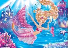 Fototapeta na flizelinie Barbie - W oceanie (1841VE)