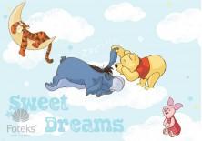 Fototapeta na flizelinie Kubuś Puchatek -Sweet dreams (313VE)