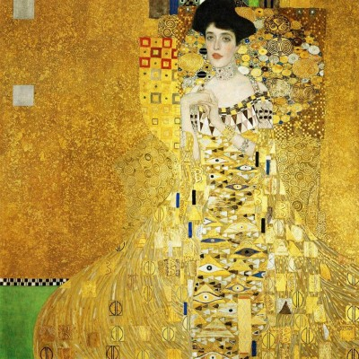 Obraz na płótnie Gustav Klimt - Portret Adeli Bloch Bauer