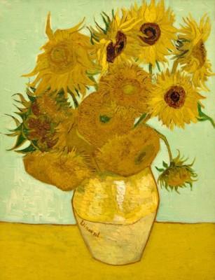 Obraz na płótnie Vincent Van Gogh - Słoneczniki