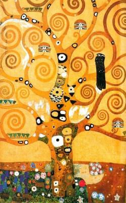 Obraz na płótnie Gustav Klimt - Drzewo życia