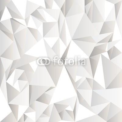 Naklejka Grafika trójkąty