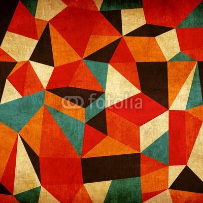 Naklejka Kolorowe origami