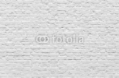 Naklejka Biała cegła