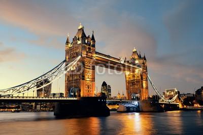 Obraz na płótnie Tower Bridge Londyn
