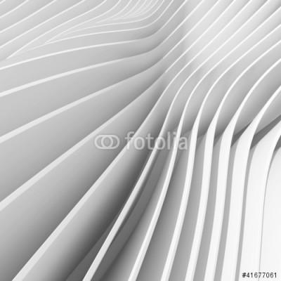 Naklejka 3d - biało szare linie, pasy