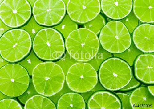 Plakat Pokrojone limonki