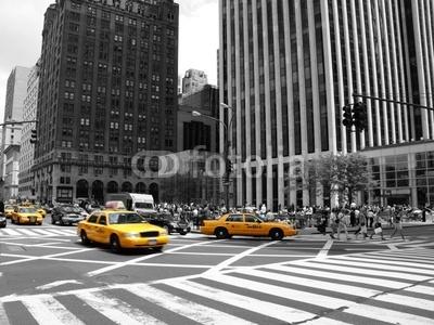 Fototapeta Amerykańskie taksówki