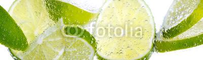 Plakat Limonki w wodzie